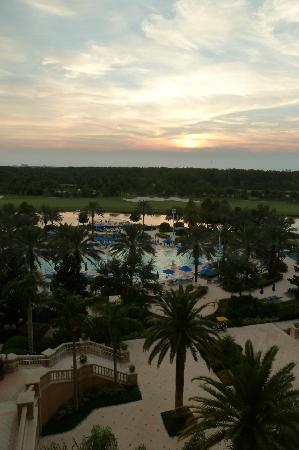 Ritz-Carlton Orlando Grande Lakes: Sunset view from room 638