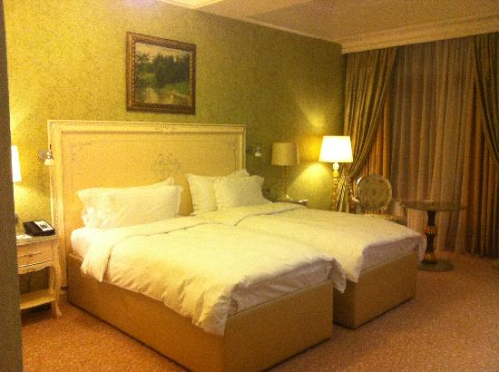 Radisson Royal Moscow: Simple and comfy room