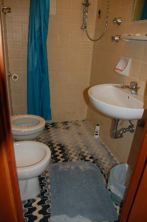 Hotel Rio sul Mare : the shower
