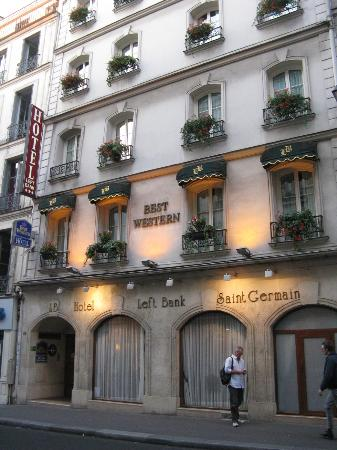 BEST WESTERN Left Bank - St Germain: Quaint exterior
