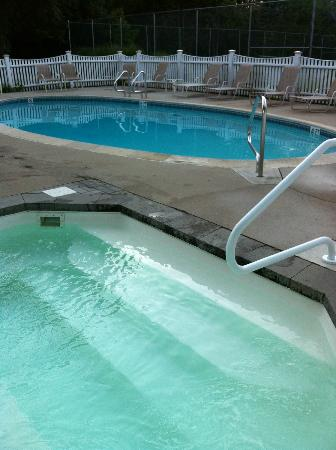 Pink Blossoms Resort (Family Suites): Heated pool and hot tub
