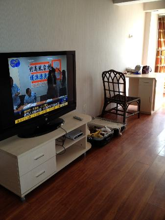 Kaibin Service Apartment Hotel Xi'an Yanta Road: living room