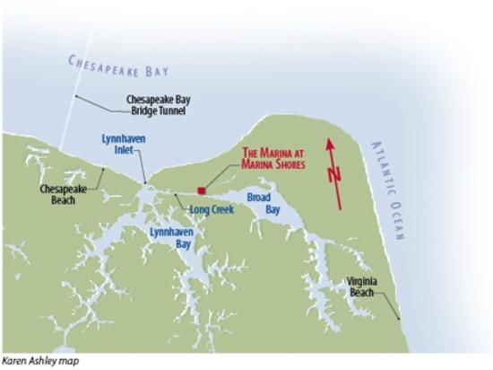 Dry storage boatel with convenient work racks dock shop for Lynnhaven inlet fishing report