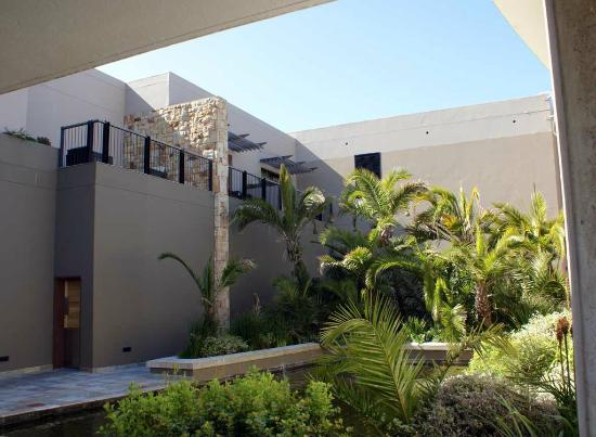 Oubaai Hotel Golf & Spa: our room from below