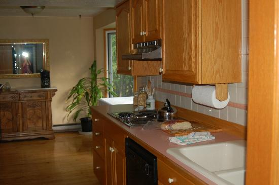 Agate Inn, Inc.: kitchen