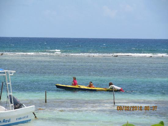 Nacional Beach Club & Bungalows: That is Abel, the snorkeling/diving guide. He was spectacular.