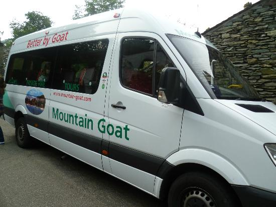 our comfy minibus picture of mountain goat day tours windermere tripadvisor. Black Bedroom Furniture Sets. Home Design Ideas