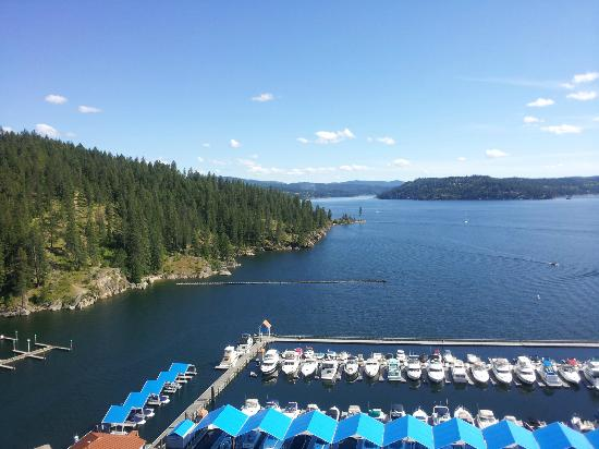 The Coeur d'Alene Resort: Gorgeous day