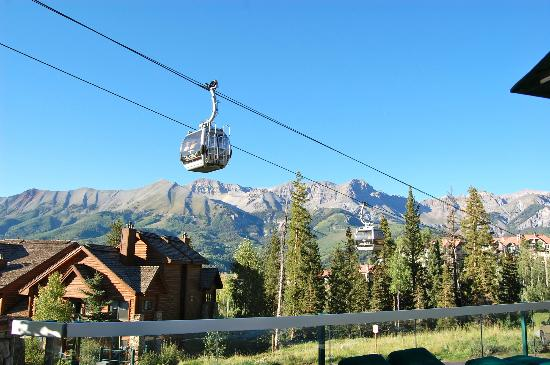 Mountain Lodge Telluride, A Noble House Resort: Our view from our room!