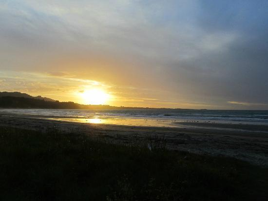 Sunset at Waihau Bay