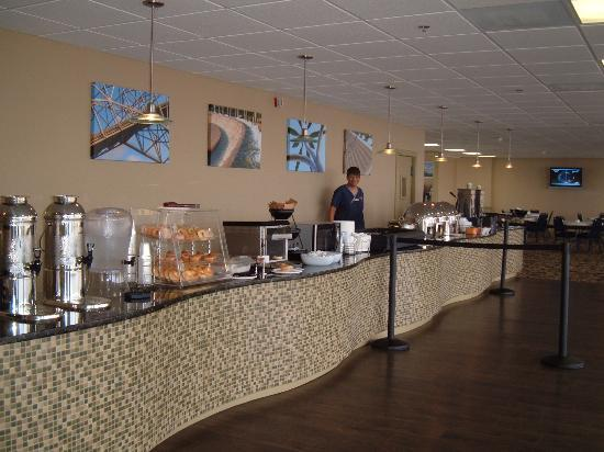 BEST WESTERN Marina Grand Hotel: Breakfast Buffet