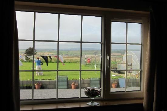 Duncrone B&B: Room's view