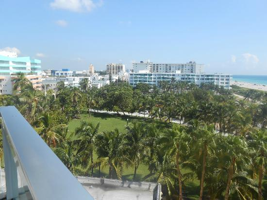Marriott Stanton South Beach: City view from room