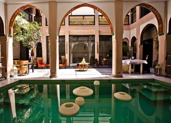 Riad Dar Anika: Pool area