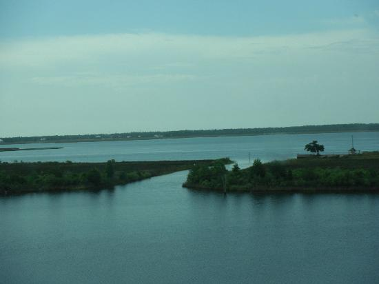 Hollywood Casino Bay St. Louis: View of the Back Bay from our 4th floor room.