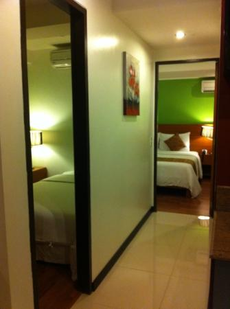 Guijo Suites Makati: two bedroom suite