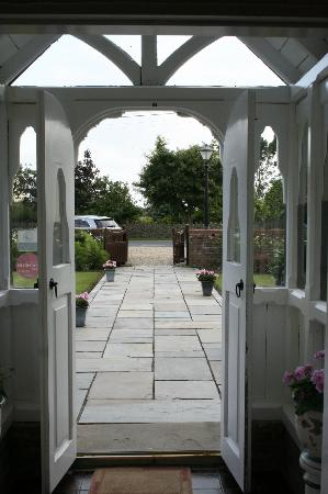 Redwick, UK: Entrance