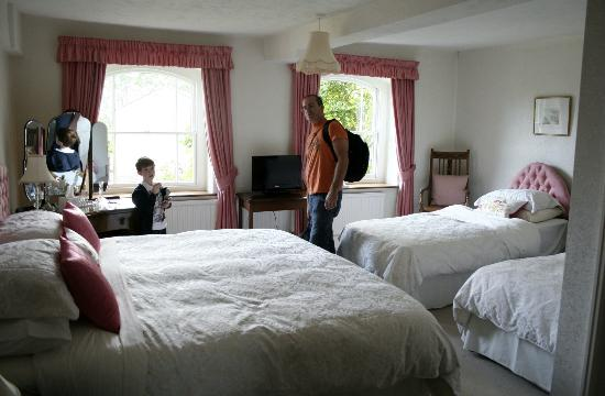 Redwick, UK: The room in general