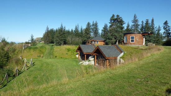 Kenai Peninsula Suites: Three of the four suites and entry to the dens