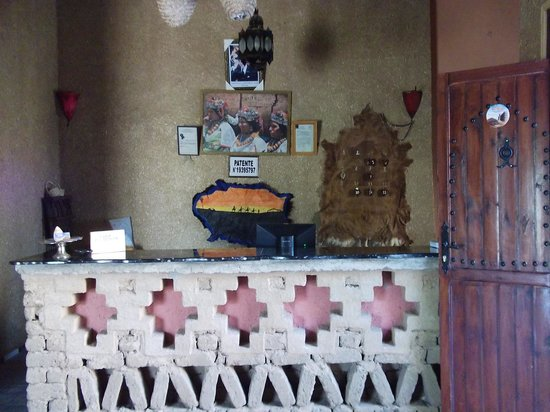 Hotel Ksar Merzouga: Reception area