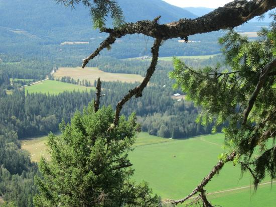 Lumby, Canada: The view from the top