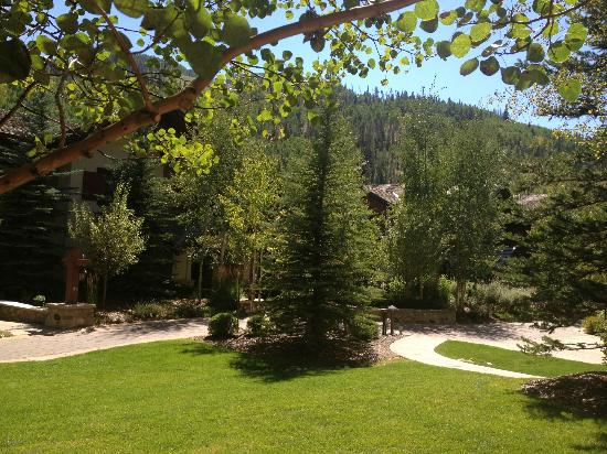 Marriott Vail Mountain Resort & Spa: View from my room patio
