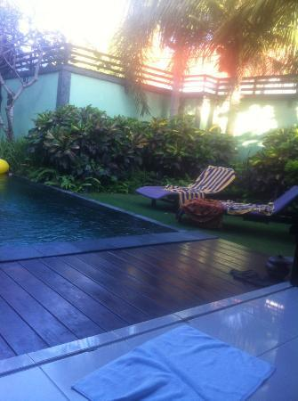 Abimanyu Villas: the pool
