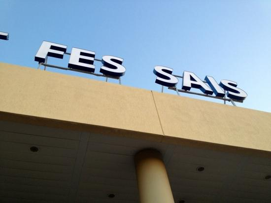 Hotel Jnane Sbile: Fes Airport