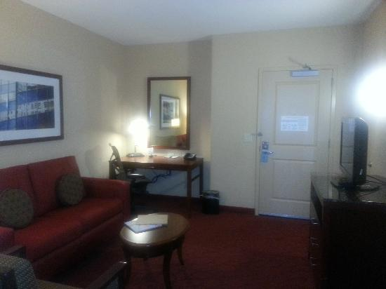 Hilton Garden Inn Milwaukee Airport: Junior Suite Living Area