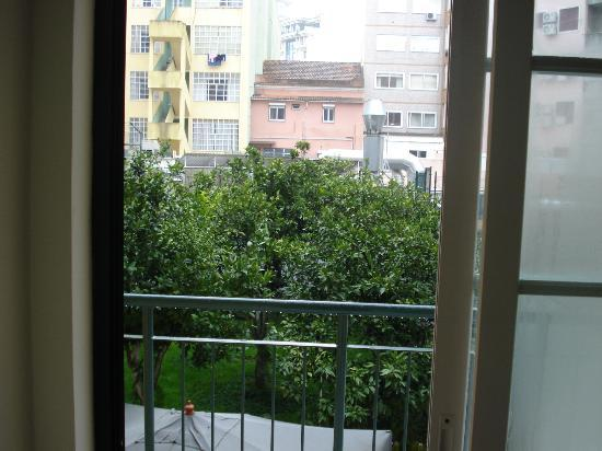 Residencial Italia Hotel: Vista do quarto