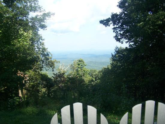 Len Foote Hike Inn: My new special reading place - What a View!