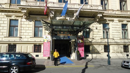 Radisson Blu Palais Hotel, Vienna: Extrieur