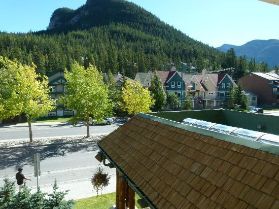 Rundlestone Lodge: view from the room