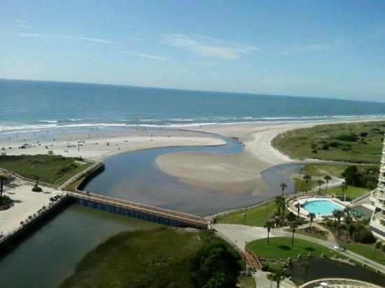 View From 13th Floor N Tower Picture Of Ocean Creek