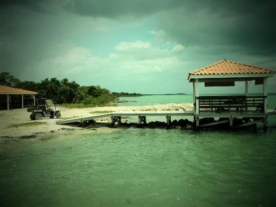 Grand Caribe Belize Resort and Condominiums: The jetty