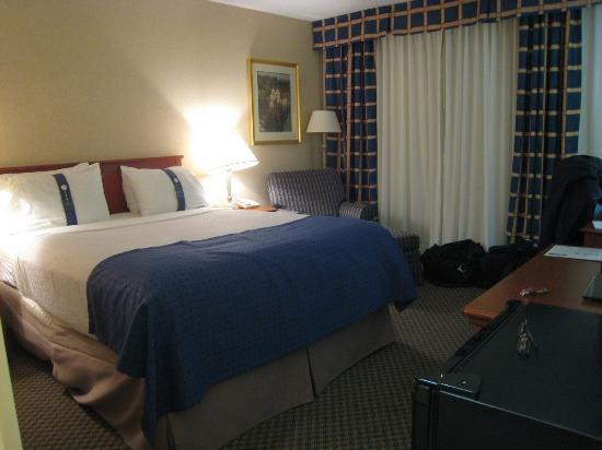 Holiday Inn Calgary - Macleod Trail South: Not a huge room but enough space for luggage and walking around