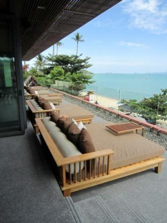 Hansar Samui Resort: Chill out lounges