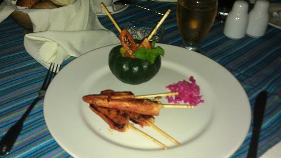 Hacienda Chichen: special fusion food
