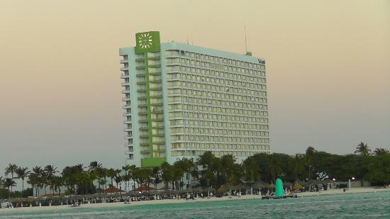 The Westin Resort & Casino, Aruba: The Westin from the water