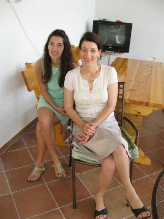 Hvar Island, Croatia: Ida and daughter