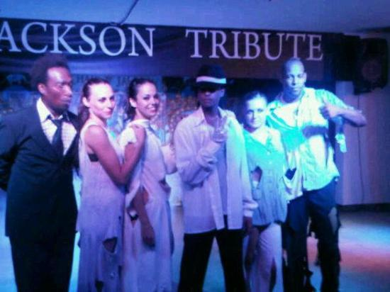 Marina Parc: m j tribute nite all the entertainers brill xxx
