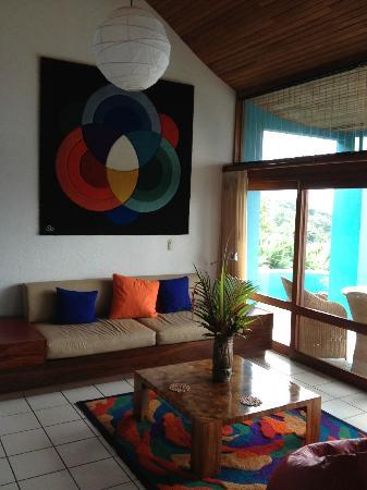 Xandari Resort & Spa: Living Area of Villa