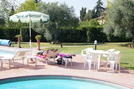 Villa San Lucchese Hotel: Our spot for the day