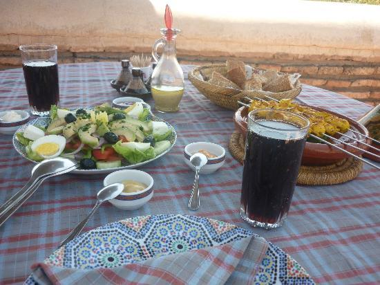 Riad Dar Sbihi: Lunch