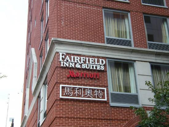 Fairfield Inn & Suites Washington, DC / Downtown: outside the hotel...