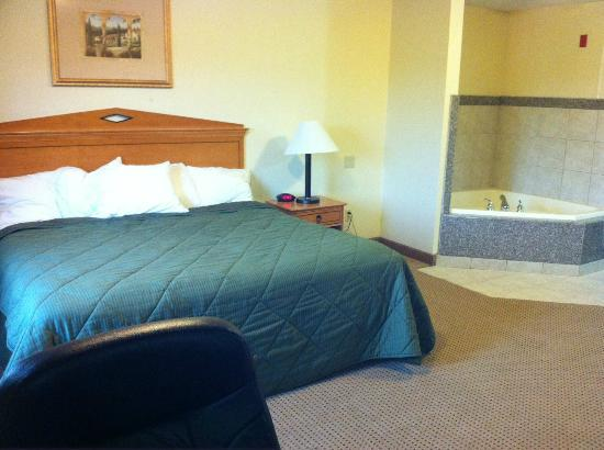 Comfort Inn Lancaster County: another angle of the whirlpool