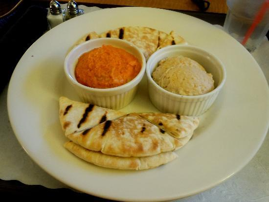 Embassy Suites by Hilton Hotel Los Angeles International Airport South: Embassy Suites LAX South Room Service Hummus