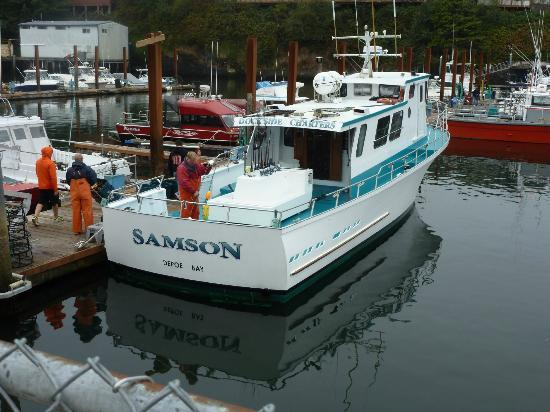 The boat we went out on picture of dockside charters for Depoe bay fishing charters