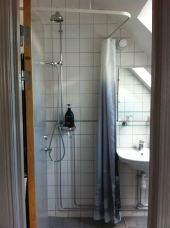 Hotell Oskar: shower