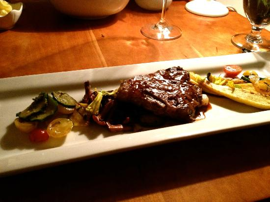 Sooke Harbour House: Lamb-second course was nothing spectacular